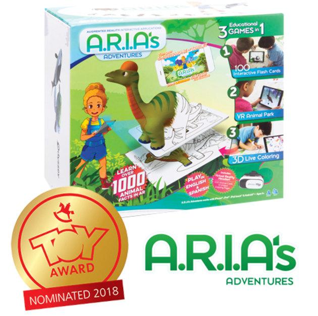 ARIA'S ADVENTURES образователна игра с добавена реалност